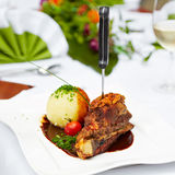 Tasty cuisine Stock Image