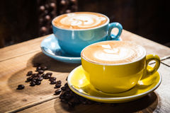 A tasty cuisine photo of coffee Royalty Free Stock Photo