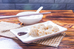 A tasty cuisine photo of dumpling stock images