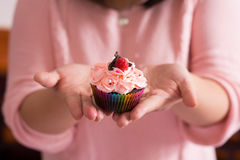 Tasty cupcake Royalty Free Stock Images