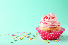 Tasty cupcake Stock Images