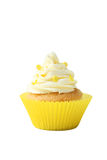 Tasty cupcake on isolated on a white Royalty Free Stock Images