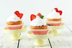 Tasty cupcake Stock Image