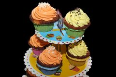 Tasty Cupcake for your special party 2. 2 Royalty Free Stock Photos