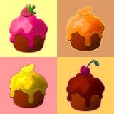 Tasty cupcakes Royalty Free Stock Image