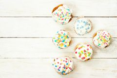 Tasty cupcakes Royalty Free Stock Photography