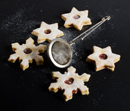 Tasty czech christmas sweets Stock Images