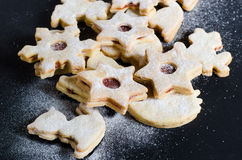 Tasty czech christmas sweets royalty free stock photography