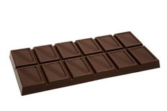 Tasty dark chocolate Stock Photo