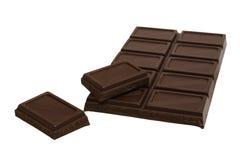 Tasty dark chocolate Stock Photos