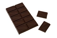 Tasty dark chocolate Royalty Free Stock Images