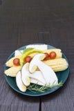 Tasty decoration of fresh vegetable Royalty Free Stock Image