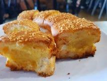 Tasty Delicious Garlic Bread royalty free stock image