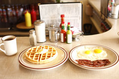 Tasty Diner Breakfast Royalty Free Stock Image