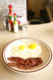 Tasty diner breakfast Stock Image