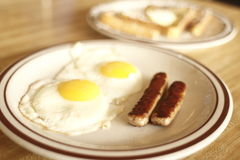 Tasty diner breakfast Stock Photo