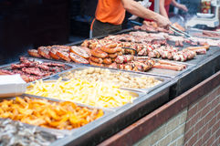 Tasty dishes Stock Photography