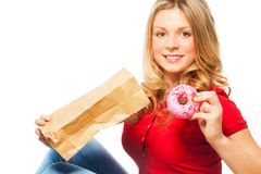Tasty donuts Royalty Free Stock Photography
