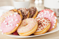 Tasty donuts Stock Image