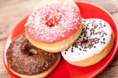 Tasty donuts Royalty Free Stock Image