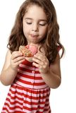 Tasty doughnut treat Royalty Free Stock Images