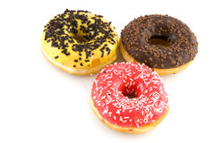 Tasty doughnuts Stock Photography