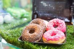 Tasty doughnuts Stock Image