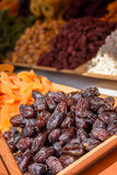 Tasty dried dates Stock Photography