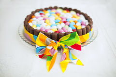Tasty easter cake Stock Images
