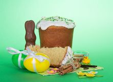 Tasty easter food Stock Photo