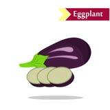The tasty eggplant Royalty Free Stock Image