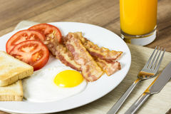 Tasty English Breakfast Stock Photos