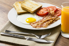 Tasty English Breakfast Royalty Free Stock Photos