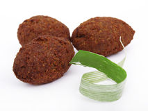 Tasty falafels meal Stock Images