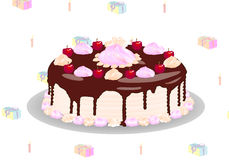 Vector cake Stock Photo