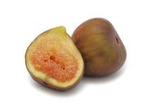 Tasty fig, isolated Stock Photo