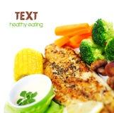 Tasty fish fillet Stock Photo