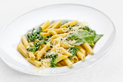Tasty food. Pasta with vegetables Stock Photography