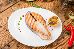Tasty food on the table Royalty Free Stock Image
