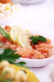 Tasty frash fish Stock Photography