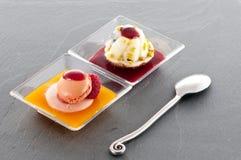 Tasty French dessert Stock Photos