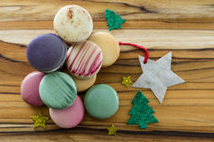 Tasty french macaroons Royalty Free Stock Image