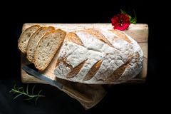 Tasty fresh baked bread Royalty Free Stock Image