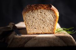 Tasty fresh baked bread Stock Images