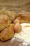 Tasty fresh bread. Stock Images