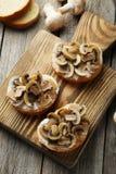 Tasty fresh bruschetta Stock Photography