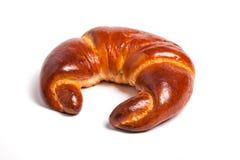 Tasty fresh croissant bread on white background. Tasty fresh croissant bread white background stock images