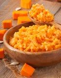 Pumpkin porridge Stock Photography