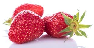 Tasty fresh strawberries Royalty Free Stock Photo