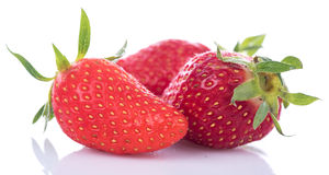 Tasty fresh strawberries Royalty Free Stock Photos